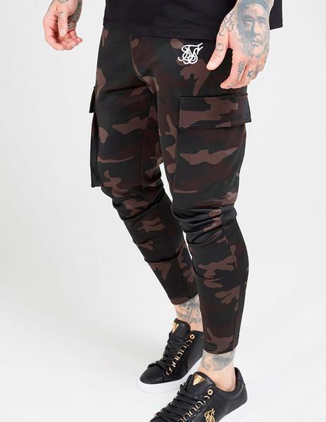 Pantalon Siksilk Camuflaje Para Hombre