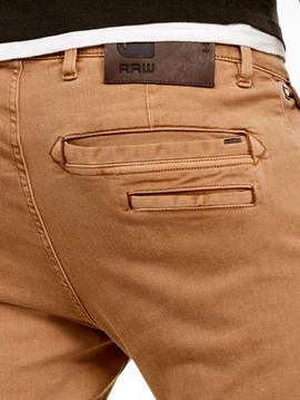 Pantalón chino G Star Raw pitillo beige