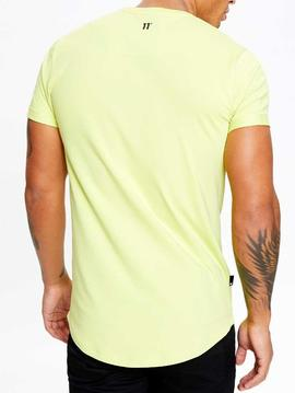 Camiseta 11 Degrees Core Muscle Fit avocado green