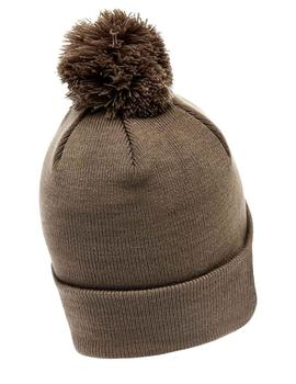 Gorro Ellesse Velly Pom Pom verde grisaceo