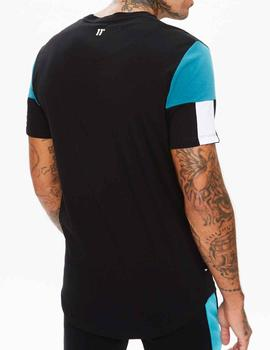 Camiseta 11 Degrees Carbon negra para hombre