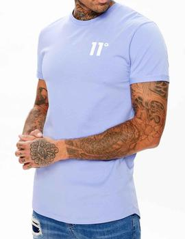 Camiseta 11 Degrees Core Muscle fit lila
