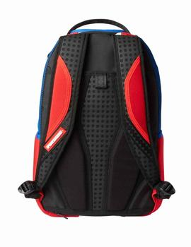 Mochila Sprayground The Liger Shark roja