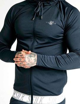 Sudadera cremallera SikSilk Scope Tape Zip Through