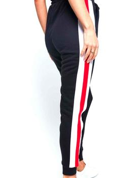 Pantalón SikSilk chica Sports Luxe Track negro