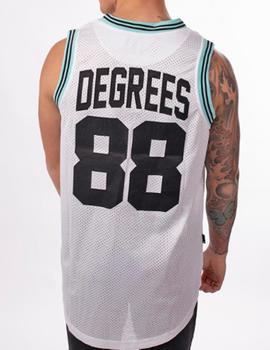Camiseta asas 11 Degrees 88 blanca