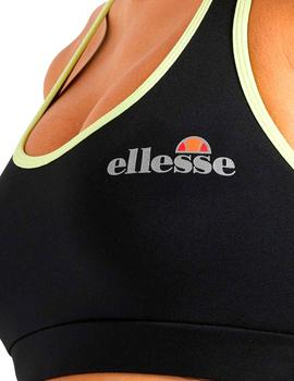 Top deportivo Ellesse Bailly negro para chica