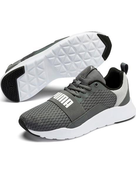 Zapatillas Puma Wired gris suela blanca hombre