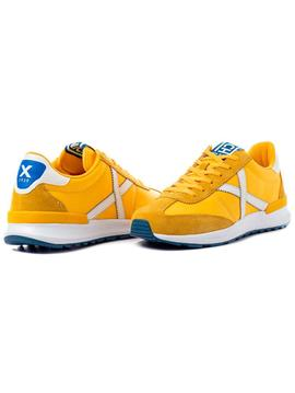 Zapatillas Munich Dynamo 15 amarillo